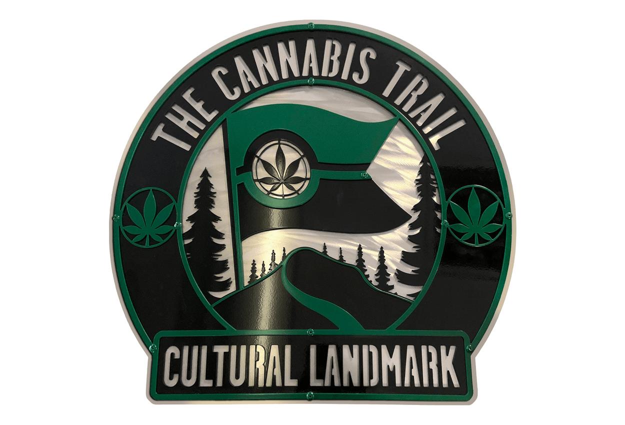 The Cannabis Trail Cultural Landmark